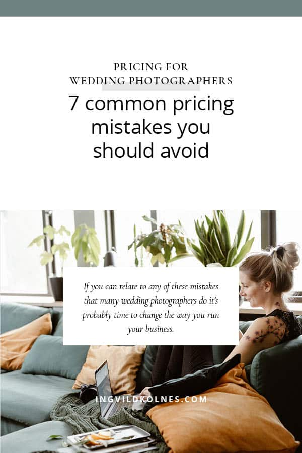 7 common pricing mistakes