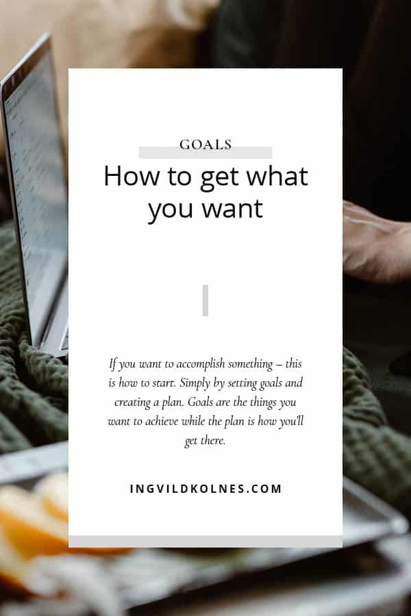 accomplish anything you want