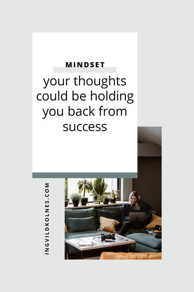 How your mindset could be holding you back from success